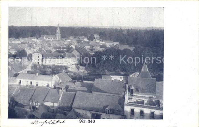 Neufchatel sur Aisne Vue generale Kat. Neufchatel sur Aisne