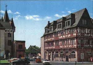 Frankfurt Main Eiserner Steg Kat. Frankfurt am Main