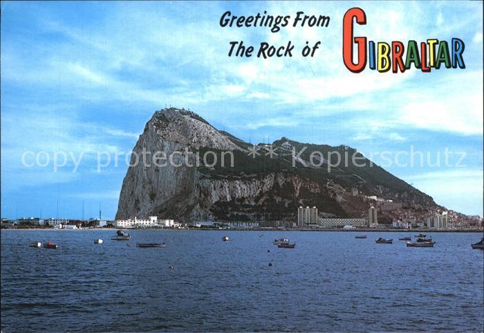 Gibraltar Der Felsen Kat. Gibraltar