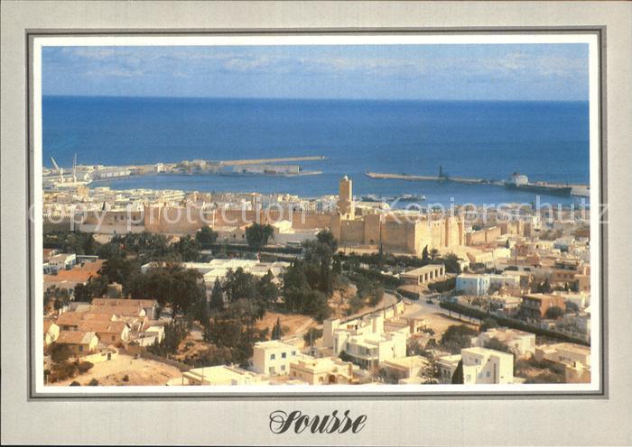 Sousse La Kasbah et le Port Kat. Tunesien