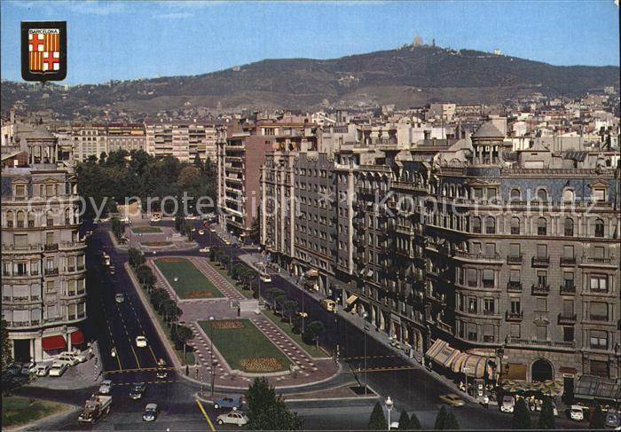 Barcelona Cataluna Avenida General Goded Kat. Barcelona