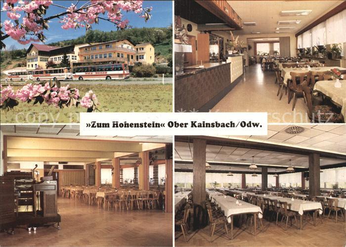Ober Kainsbach ober kainsbach gasthaus cafe pension zum hohenstein saal restaurant