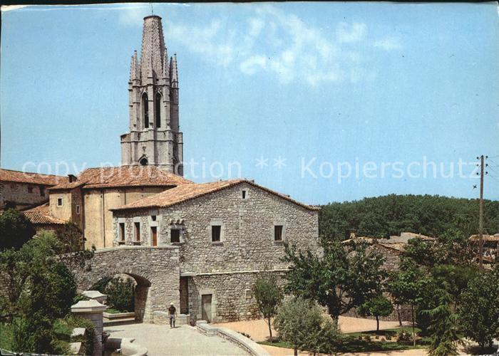 Gerona Paseo Arqueologico e Iglesia de San Felix Kat. Costa Brava Spanien