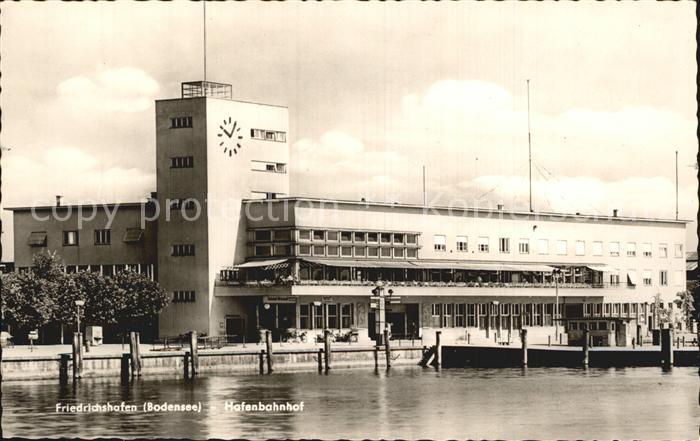 Friedrichshafen Bodensee Hafenbahnhof Kat. Friedrichshafen