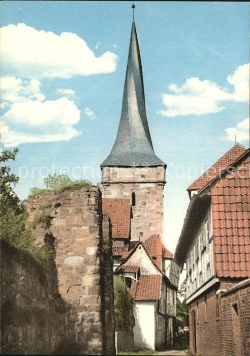Duderstadt Westerturm Kat. Duderstadt