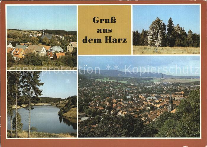 Wernigerode Harz Trautenstein Schierke Schnarcherklippen Rappbode Kat. Wernigerode