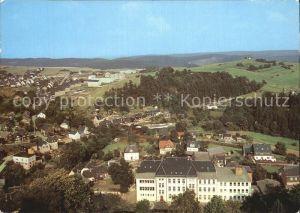 Lobenstein Bad Blick vom Alten Turm