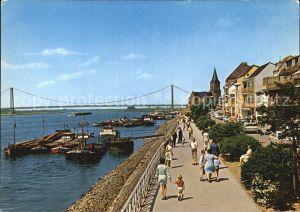 Emmerich Rhein Rheinpromenade Kat. Emmerich am Rhein