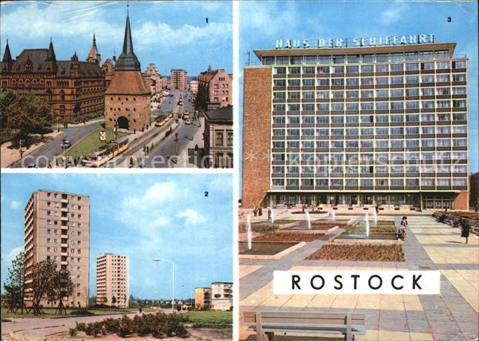 rostock mecklenburg vorpommern haus der schiffahrt steintor kat rostock nr kv03566 oldthing. Black Bedroom Furniture Sets. Home Design Ideas