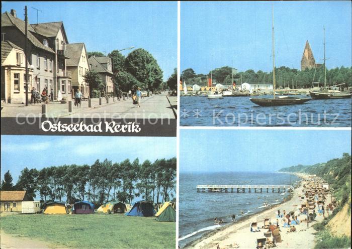 Rerik Ostseebad Strand Zeltplatz Hafen Kat. Ostseebad Rerik