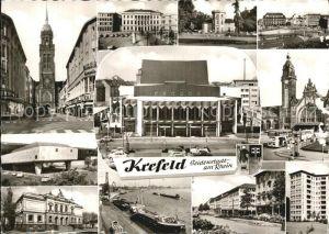 Krefeld Seidenstadt Stadtansichten Kat. Krefeld
