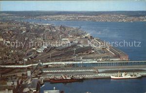 Halifax Nova Scotia Hafen Luftaufnahme Kat. Halifax