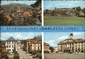 Sonneberg Thueringen Beethovenstrasse Spielzeugmuseum Sternwarte Kat. Sonneberg