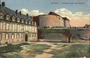 Sedan Ardennes Offiziersmesse und Schloss Kat. Sedan
