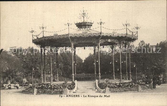 Angers Le Kiosque du Mail Kat. Angers Nr. dp78942 - oldthing ...