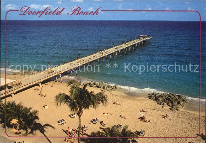 Deerfield Beach Strand Kat. Deerfield Beach