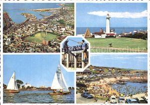 Port Elizabeth Southafrica Fliegeraufnahme Leuchtturm Teilansicht  Kat. Port Elizabeth