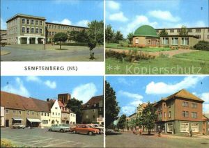 Senftenberg Niederlausitz Ingenieurschule Planetarium Platz der Freundschaft Bahnhofstrasse  Kat. Senftenberg