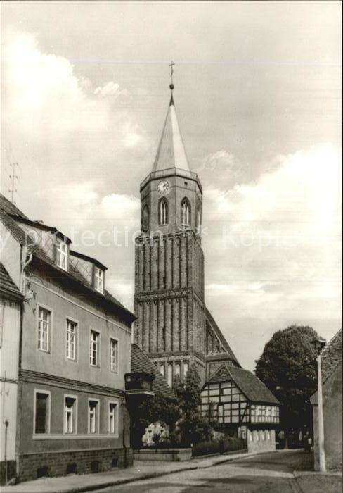 Calau Kirchstrasse  Kat. Calau