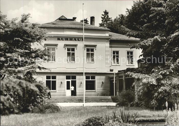 Bad Schandau Kurhaus Kat. Bad Schandau