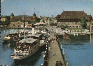 Konstanz Bodensee Hafen und Konzil Kat. Konstanz
