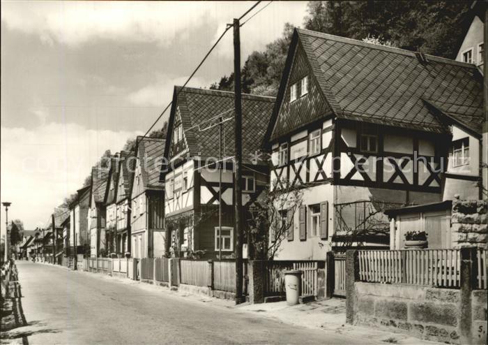 Postelwitz Sieben Brueder Haeuser Kat. Bad Schandau