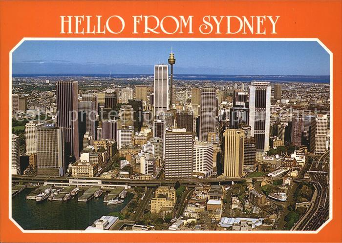 Sydney New South Wales Skyline Kat. Sydney