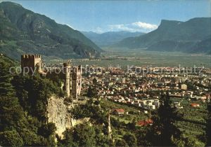 Merano Suedtirol Castel Fontana Bunnenburg Kat. Merano
