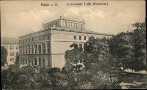 Halle Saale Universitaet Halle-Wittenberg / Halle /Halle Saale Stadtkreis