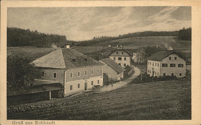 Kohlstadt Bergen Teilansicht / Bergen /Traunstein LKR