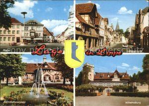 Lage Lippe Langestrasse Wilhelmsburg Bahnhofsvorplatz Markt Kat. Lage