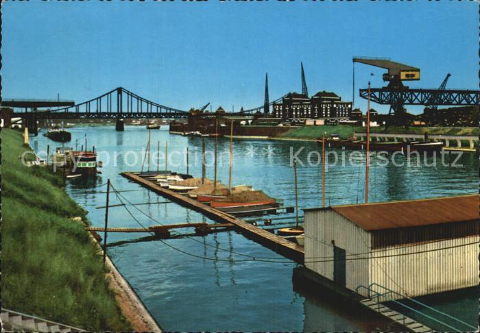 Krefeld Rheinhafen Kat. Krefeld