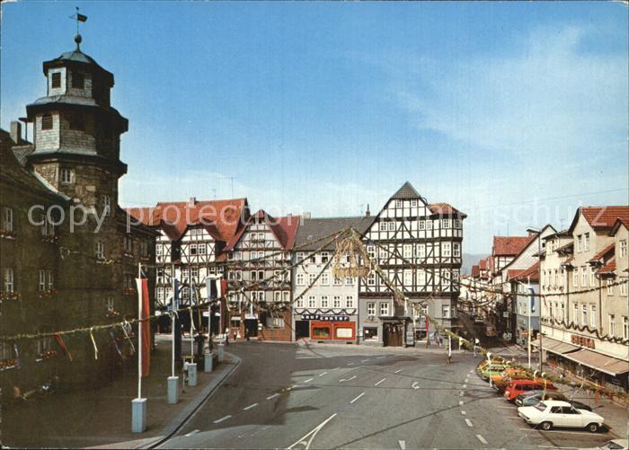 Witzenhausen Markt  Kat. Witzenhausen