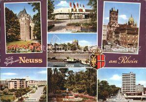 Neuss Obertor Stadthalle Kramergasse  Kat. Neuss