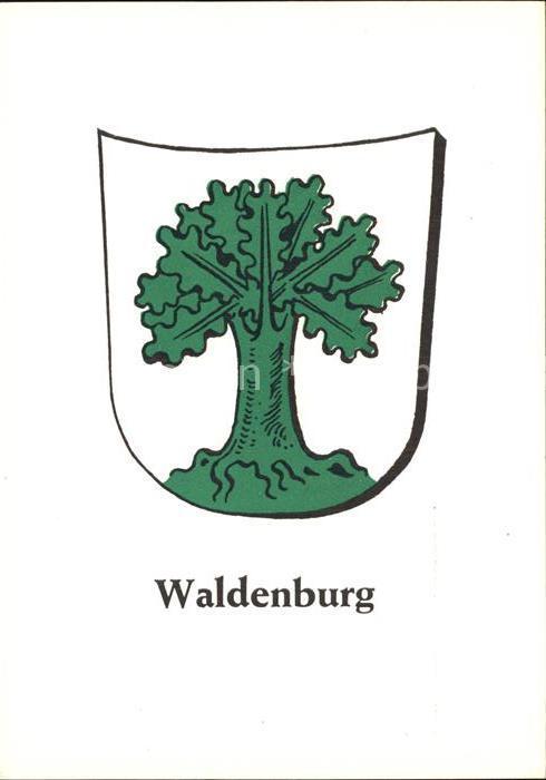 Waldenburg Schlesien Wappen Kat. Walbrzych