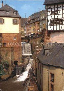 Saarburg Saar Wasserfall Kat. Saarburg