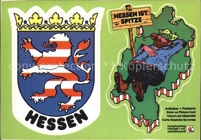 Frankfurt Main Wappen Hessen Kat. Frankfurt am Main