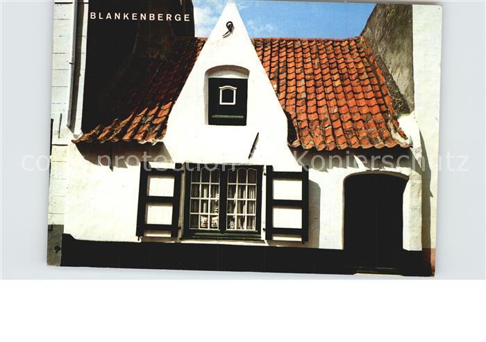 Blankenberge Vieille maison de pecheur Kat.