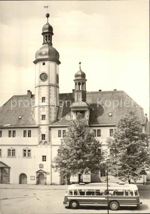 Eisenberg Thueringen Rathaus Kat. Eisenberg