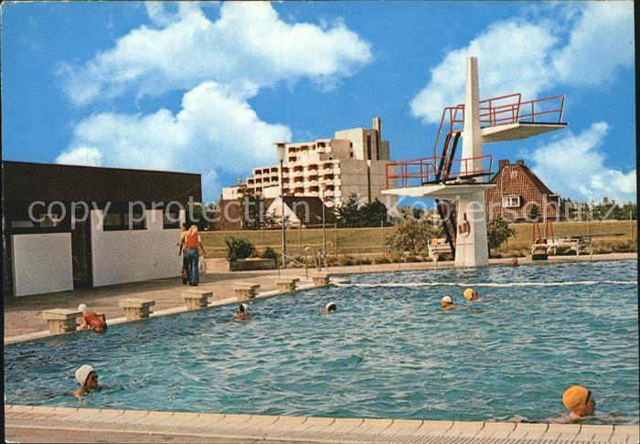 Dahme Ostseebad Meerwasserschwimmbad Kat. Dahme