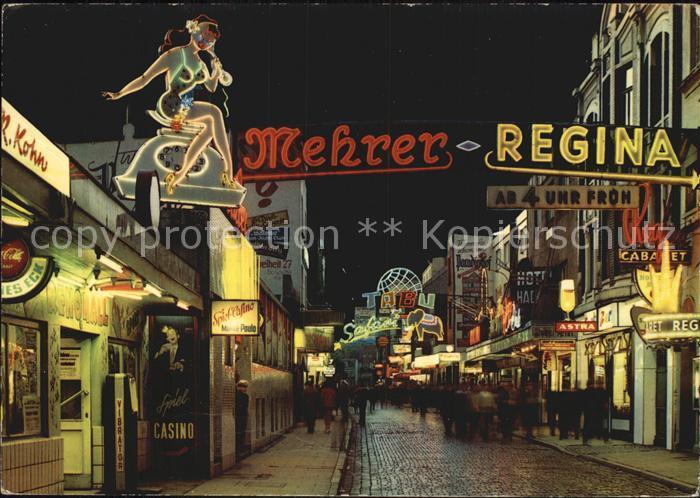 st pauli grosse freiheit kat hamburg nr kt74675 oldthing ansichtskarten deutschland. Black Bedroom Furniture Sets. Home Design Ideas