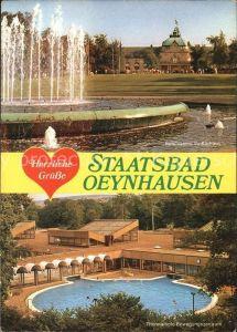 Bad Oeynhausen Spielcasino im Kurpark Thermalsole im Bewegungszentrum  Kat. Bad Oeynhausen