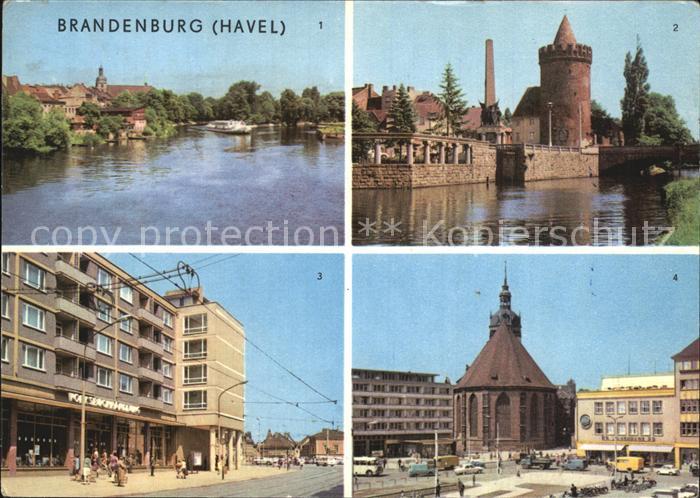 Brandenburg Havel Sowjetisches Ehrenmal Steintor Steinstrasse Kat. Brandenburg