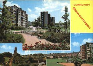 Meinerzhagen Hochhaeuser Park Sprungschanze  Kat. Meinerzhagen