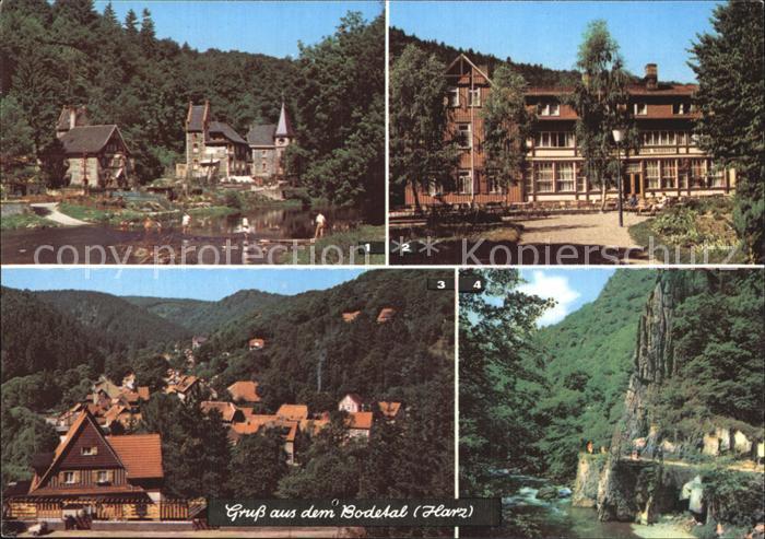 Bodetal Harz Treseburg Altenbrak Kat. Treseburg