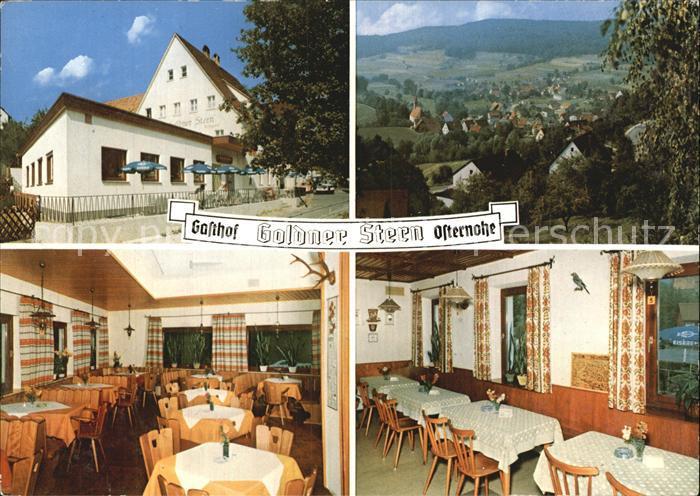 Osternohe Gasthof Pension Goldner Stern Kat. Schnaittach