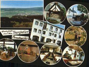 Bruchweiler Baerenbach Burgkeller Pension Gasthaus Kat. Bruchweiler Baerenbach