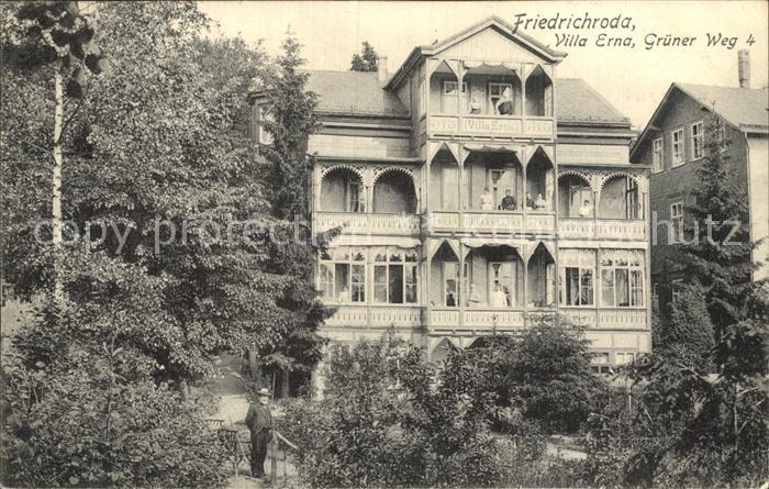 Friedrichroda Villa Erna Kat. Friedrichroda