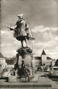 Moers Denkmal Grosser Kurfuerst Neumarkt Kat. Moers