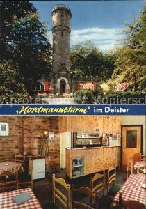 Calenberg Nordmannsturm im Deister Restaurant Kat. Warburg